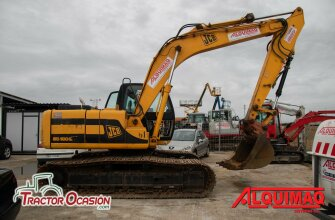 Alquiler excavadoras hasta 20 toneladas
