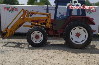 TRACTOR CASE 745 dt CON PALA US 1766