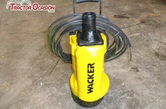 Bomba sumergible eléctrica Wacker PS2 1503