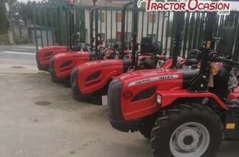 Gama tractores AGRIA de 30 a 115cv