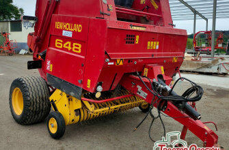 New Holland 648 (hilo y red)