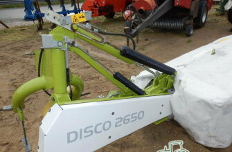SEGADORA ROTATIVA CLAAS DISCO 2650 PLUS