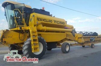 COSECHADORA NEW HOLLAND TC56