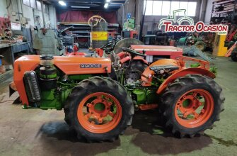 TRACTOR AGRIA - 9900