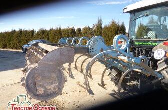 Cultivador 11 brazos con rulo regulable