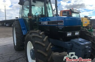 NEW HOLLAND - 8340 TURBO