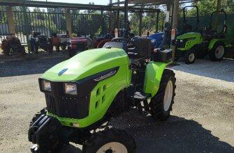 Oferta tractor avenger Mitsubishi con apero
