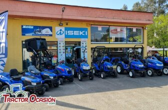 Gama tractores ISEKI nuevos