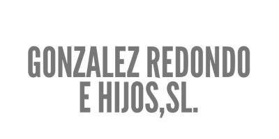 GONZALEZ REDONDO E HIJOS,SL.