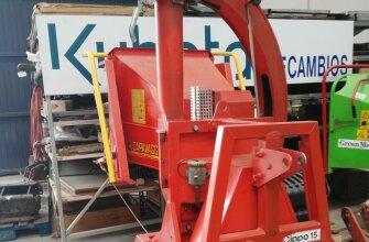 Trituradora Caravaggi modelo Cippo 15 para tractor