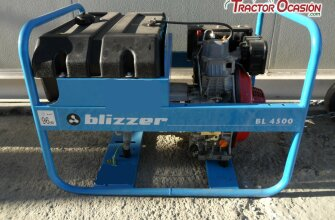 GENERADOR  marca Blizzer Pramac, modelo BL 4500