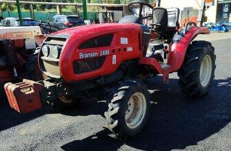 Tractor branson 30cv documentado